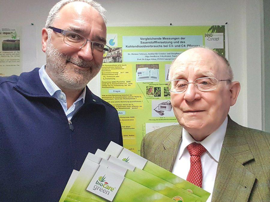 Herr Hans Peter Thierfeld, Geschäftsführer der Seelower Wohnungsbaugesellschaft SEWOBA GmbH, ehemaliger Bürgermeister der Stadt Strausberg (2002 – 2010) informierte sich beim Vorstand von MITI