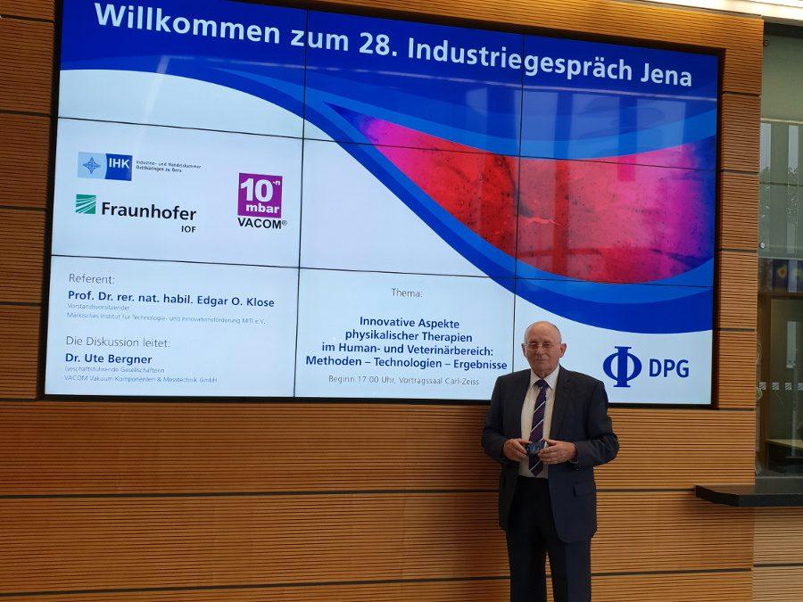 """""""Innovative Aspekte physikalischer Therapien im Human- und Veterinärbereich: Methoden – Technologien – Ergebnisse"""""""