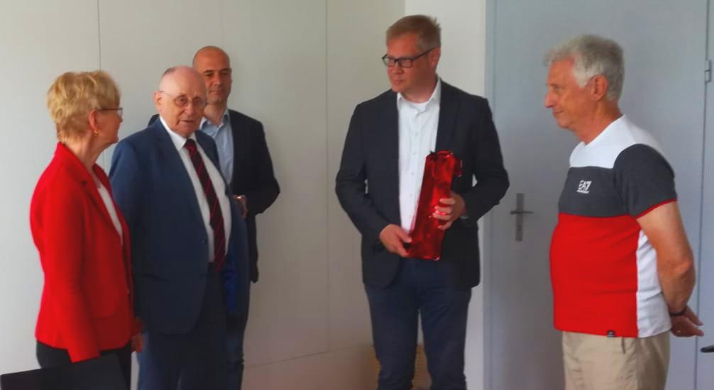 Besuch im Märkische Institut für Technologie- und Innovationsförderung (MITI) in Strausberg