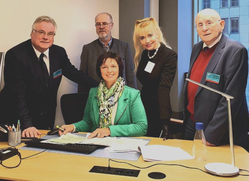 Besuch von Einrichtungen des Europäischen Parlamentes und der Europäischen Kommission