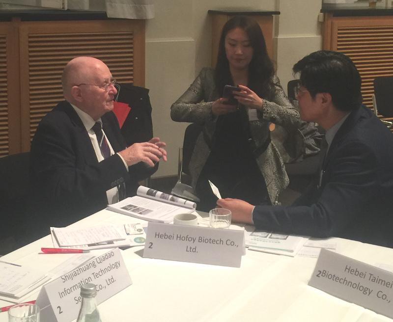 Auf Einladung der Witschaftsförderung Brandenburg nahmen Vertreter von MITI an einer Konferenz mit Witschaftsvertretern der chinesischen Partnerregion Hebei des Landes Brandenburg teil.