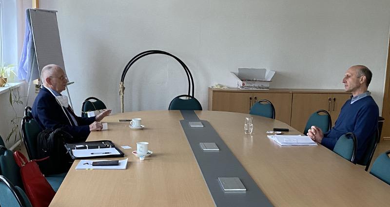 Besuch bei der Agraraktiengesellschaft Albrecht Daniel Thaer (ADT)